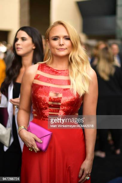 Miranda Lambert attends the 53rd Academy of Country Music Awards t on April 15 2018 in Las Vegas Nevada