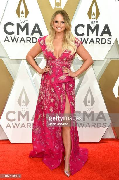 Miranda Lambert attends the 53rd annual CMA Awards at the Music City Center on November 13 2019 in Nashville Tennessee