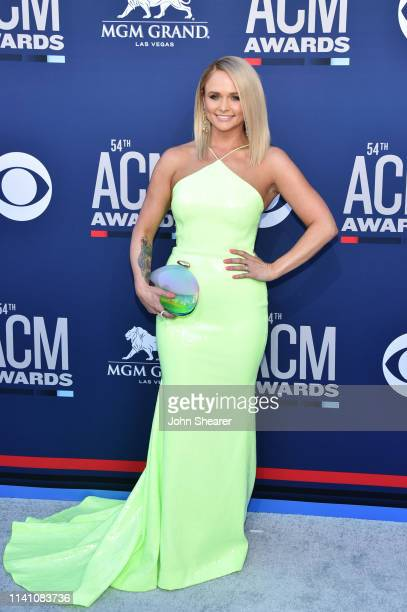 Miranda Lambert attends the 54th Academy Of Country Music Awards at MGM Grand Hotel Casino on April 07 2019 in Las Vegas Nevada