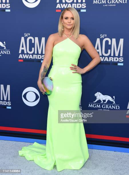 Miranda Lambert attends the 54th Academy of Country Music Awards at MGM Grand Garden Arena on April 07 2019 in Las Vegas Nevada