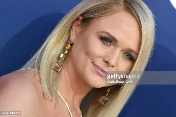 Miranda Lambert attends the 54th Academy of Country Music Awards at MGM Grand Garden Arena on April 07, 2019 in Las Vegas, Nevada.