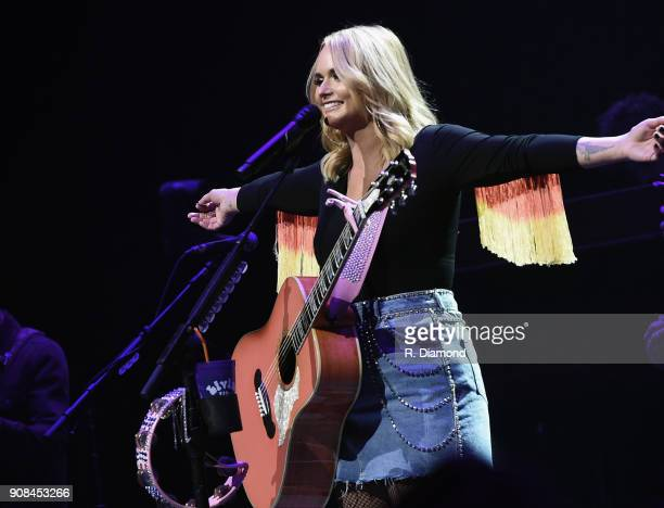Miranda Lambert Livin' Like Hippies Tour Atlanta Georgia at Infinite Energy Center on January 20 2018 in Duluth Georgia