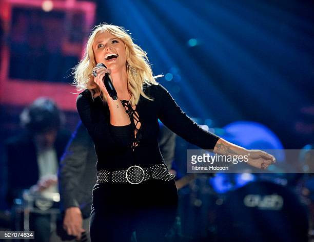 Miranda Lambert performs at 2016 iHeartCountry Festival at The Frank Erwin Center on April 30 2016 in Austin Texas