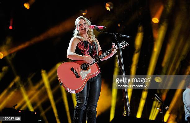 Miranda Lambert performs at LP Field during the 2013 CMA Music Festival on June 6, 2013 in Nashville, Tennessee.