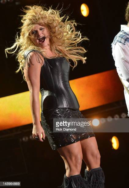 Miranda Lambert performs during the 2012 CMA Music Festival Day 1 at LP Field on June 7 2012 in Nashville Tennessee