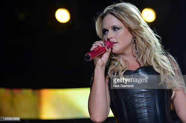Miranda Lambert performs during the 2012 CMA Music Festival - Day 1 at LP Field on June 7, 2012 in Nashville, Tennessee.