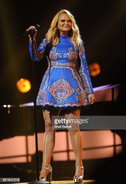 Miranda Lambert performs during the Elton John: I'm Still Standing - A Grammy Salute at The Theater at Madison Square Garden on January 30, 2018 in...