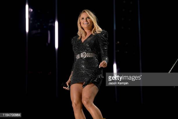 Miranda Lambert performs onstage during day 3 of the 2019 CMA Music Festival on June 8 2019 in Nashville Tennessee