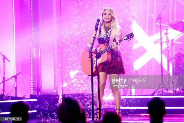 Miranda Lambert performs onstage during the 53rd annual CMA Awards at the Bridgestone Arena on November 13, 2019 in Nashville, Tennessee.