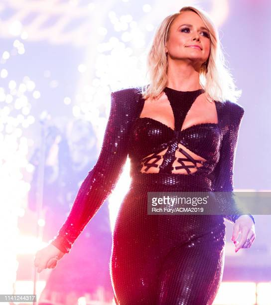 Miranda Lambert performs onstage during the 54th Academy Of Country Music Awards at MGM Grand Garden Arena on April 07 2019 in Las Vegas Nevada