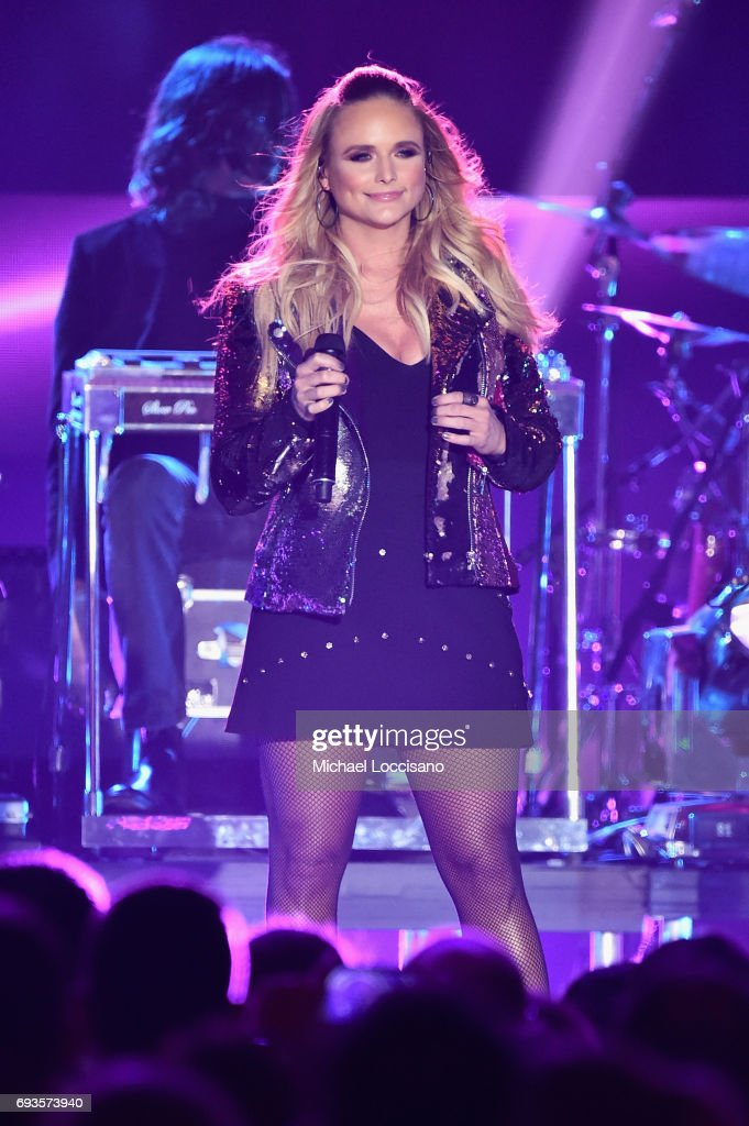 Miranda Lambert perfroms Pink Sunglasses onstage during the 2017 CMT Music Awards at the Music City Center on June 6, 2017 in Nashville, Tennessee.