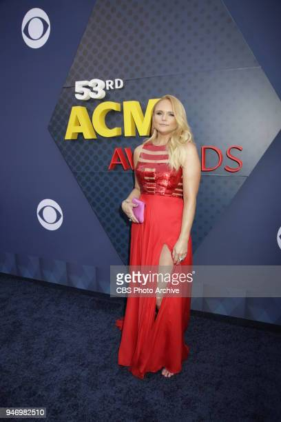 Miranda Lambert walks the red carpet at the 53RD ACADEMY OF COUNTRY MUSIC AWARDS live from the MGM Grand Garden Arena in Las Vegas Sunday April 15...