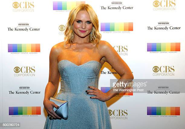 Miranda Lambert walks the red carpet before the Kennedy Center Honors December 06 2015 in Washington DC The honorees include George Lucas Carole King...