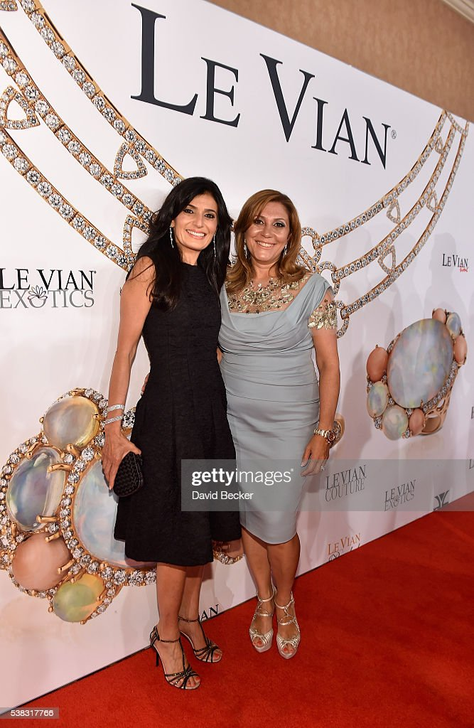 Miranda LeVian (L) and Elizabeth LeVian attend the Le Vian 2017 Red Carpet Revue at the Mandalay Bay Convention Center on June 5, 2016 in Las Vegas, Nevada.