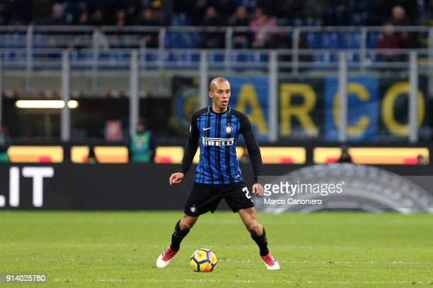 Miranda of FC Internazionale in action during the Serie A match between FC Internazionale and Fc Crotone The match end in a tie 11