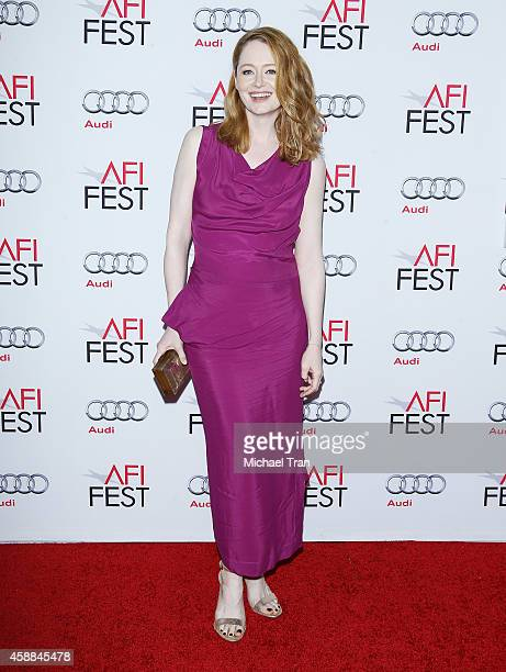 Miranda Otto arrives at AFI FEST 2014 Presented By Audi 'The Homesman' premiere held at Dolby Theatre on November 11 2014 in Hollywood California