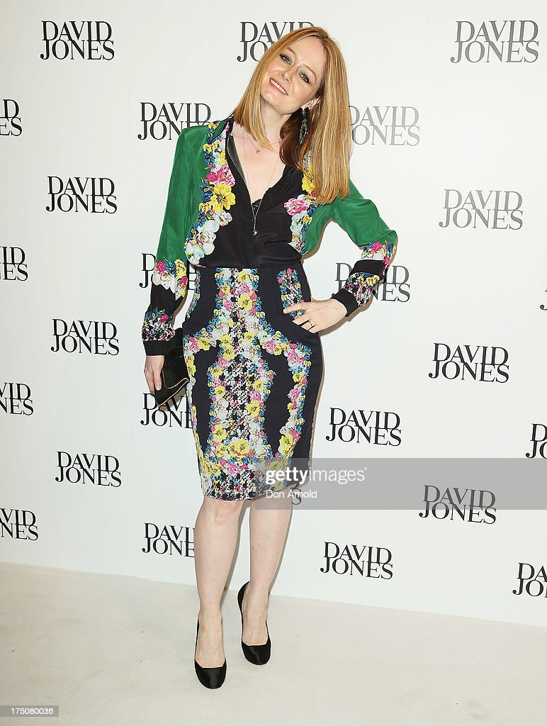 Miranda Otto arrives at the David Jones Spring/Summer 2013 Collection Launch at David Jones Elizabeth Street on July 31, 2013 in Sydney, Australia.