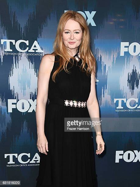 Miranda Otto attends the FOX AllStar Party during the 2017 Winter TCA Tour at Langham Hotel on January 11 2017 in Pasadena California