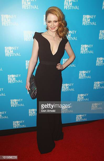 Miranda Otto attends the opening night of the Sydney Film Festival at the State Theatre on June 2 2010 in Sydney Australia