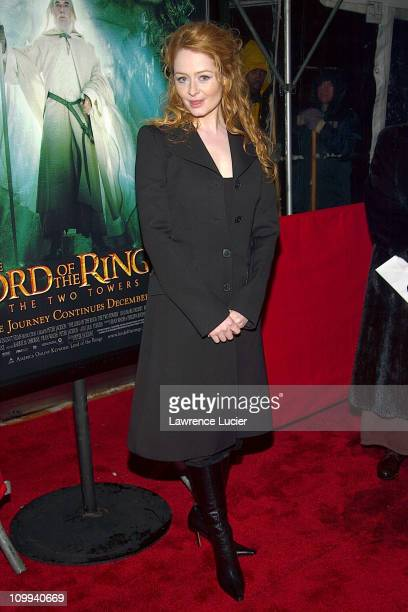 Miranda Otto during The Lord of the Rings The Two Towers Premiere at Ziegfeld Theatre in New York New York United States
