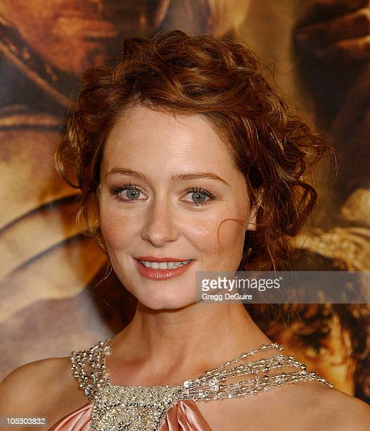 Miranda Otto during The Lord Of The RingsThe Return Of The King Los Angeles Premiere at Mann Village Theatre in Westwood California United States