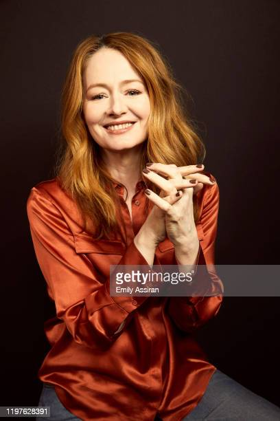 Miranda Otto from Downhill poses for a portrait at the Pizza Hut Lounge on January 25 2020 in Park City Utah