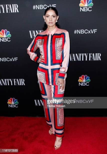 Miranda Rae Mayo attends NBC and Vanity Fair's celebration of the season at The Henry on November 11 2019 in Los Angeles California