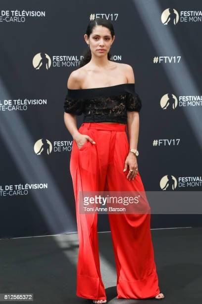Miranda Rae Mayo attends photocall for Chicago Fire on June 17 2017 at the Grimaldi Forum in MonteCarlo Monaco