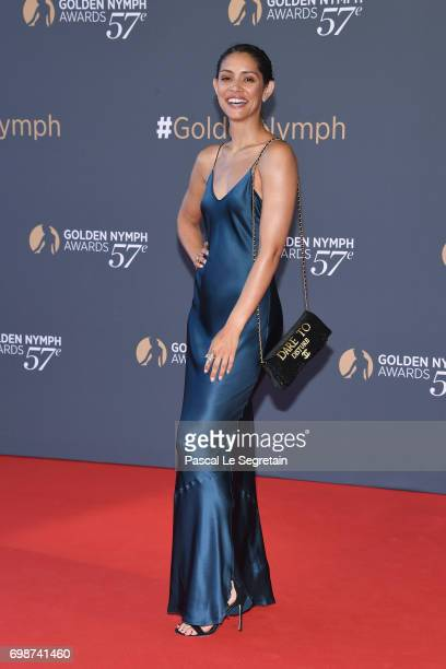 Miranda Rae Mayo attends the closing ceremony of the 57th Monte Carlo TV Festival on June 20 2017 in MonteCarlo Monaco