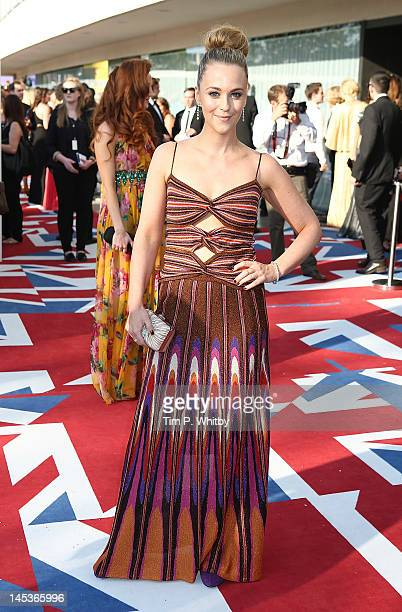 Miranda Raison attends The 2012 Arqiva British Academy Television Awards at the Royal Festival Hall on May 27 2012 in London England