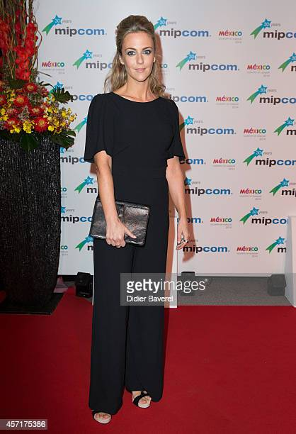 Miranda Raison attends the opening red carpet party MIPCOM 2014 at Hotel Martinez on October 13 2014 in Cannes France