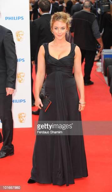 Miranda Raison attends the Philips British Academy Television awards at London Palladium on June 6 2010 in London England