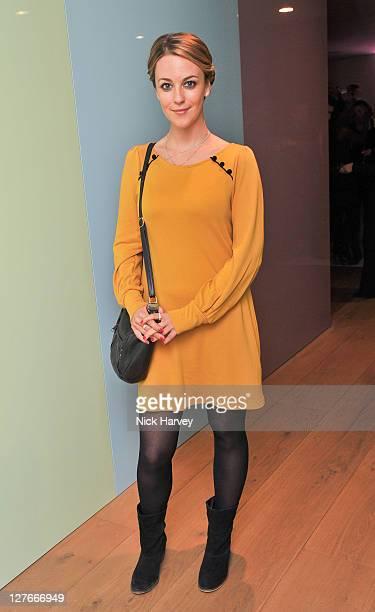 Miranda Raison attends the Triumph Inspiration Awards 2011 on March 31 2011 in London England