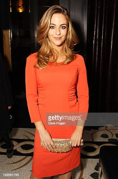 Miranda Raison attends the UK premiere afterparty of My Week with Marilyn at The Corinthia Hotel on November 20 2011 in London United Kingdom