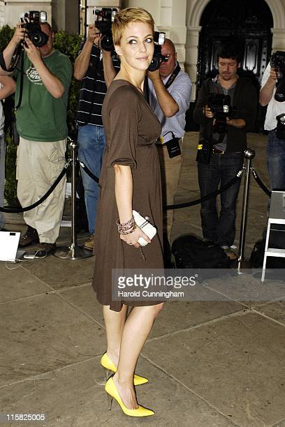 Miranda Raison during Marks Spencer Autumn/Winter 2007 Preview – Outside Arrivals at One Piazza in London Great Britain