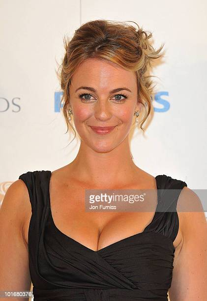 Miranda Raison poses in the press room at the Philips British Academy Television Awards at London Palladium on June 6 2010 in London England