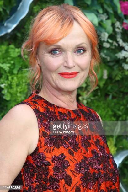 Miranda Richardson at the Global TV Premiere of Amazon Original Good Omens at Odeon Luxe Leicester Square