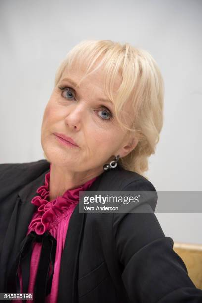 Miranda Richardson at the 'Stronger' Press Conference at the Fairmont Royal York Hotel on September 10 2017 in Toronto Canada