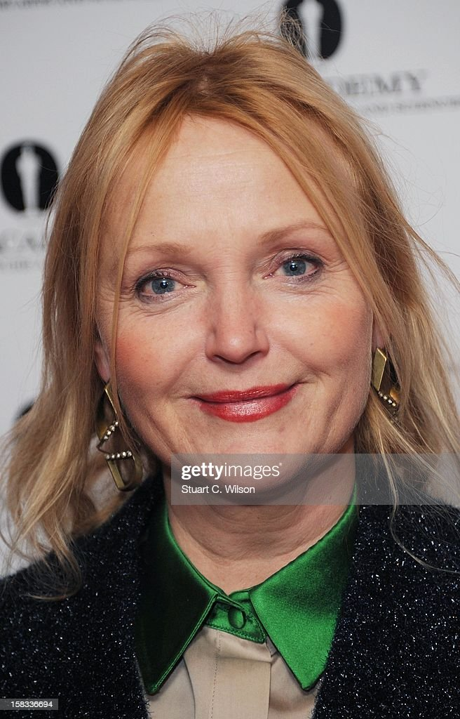 Miranda Richardson attends as The Academy of Motion Picture Arts and Sciences honours director Pedro Almodovar at Curzon Soho on December 13, 2012 in London, England.