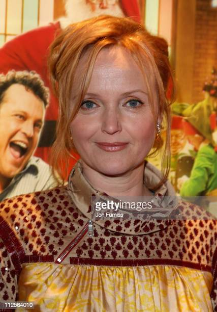 Miranda Richardson attends the Fred Claus film premiere held at the Empire Leicester Square on November 19 2007 in London England
