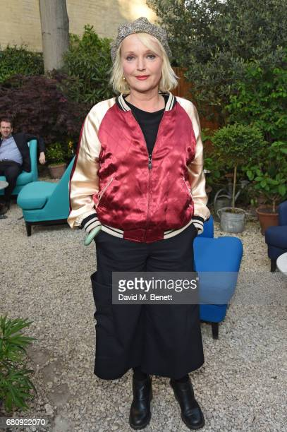 Miranda Richardson attends The Ivy Chelsea Garden's 2nd anniversary party on May 9 2017 in London England