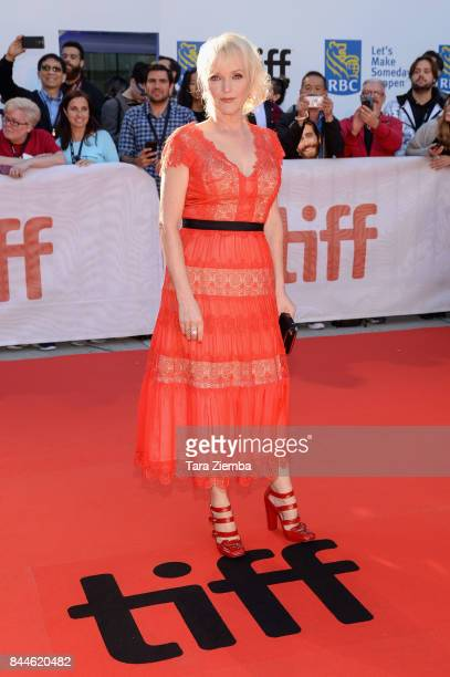 Miranda Richardson attends the 'Stronger' premiere during the 2017 Toronto International Film Festival at Roy Thomson Hall on September 8 2017 in...