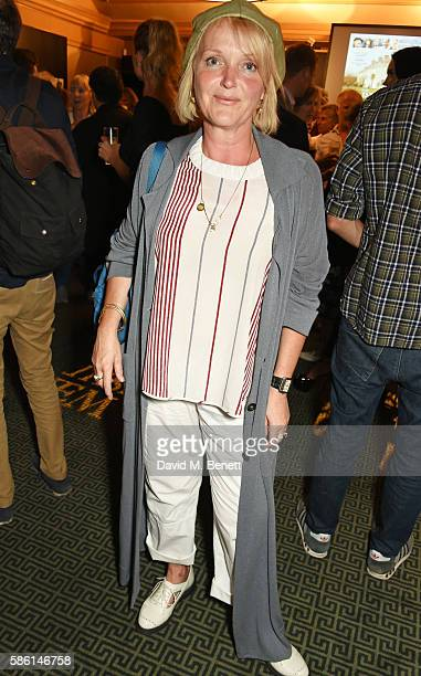 Miranda Richardson attends the UK Premiere of 'The Carer' at the Regent Street Cinema on August 5 2016 in London England