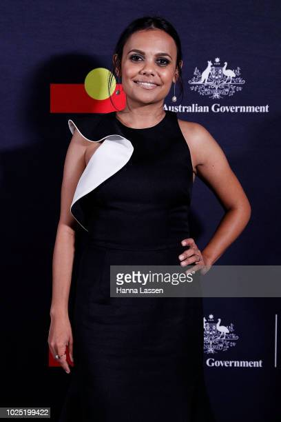 Miranda Tapsell attends the 25th Anniversary of Screen Australia's Indigenous Department at Carriageworks on August 30 2018 in Sydney Australia
