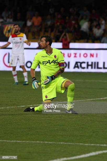 Mirante Antonio Bologna's goalkeeper during soccer match between Benevento Calcio and Bologna FC at Stadio Comunale Ciro Vigorito in Benevento Final...