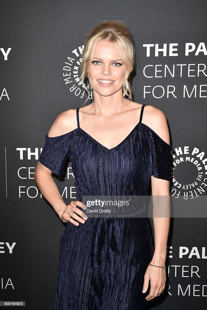 Mircea Monroe attends the 2017 PaleyLive LA Summer Season - Premiere Screening And Conversation For Showtime's 'Episodes' at The Paley Center for Media on August 16, 2017 in Beverly Hills, California.