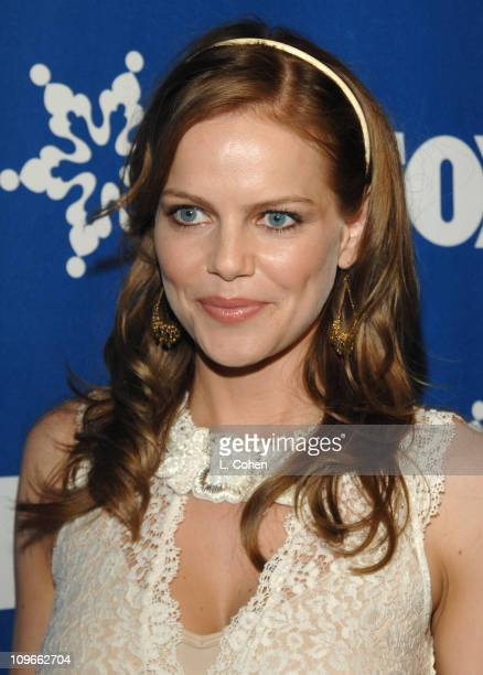 Mircea Monroe during The Fox All-Star Winter 2007 TCA Press Tour Party - Red Carpet and Inside at Villa Sorriso in Pasadena, California, United...