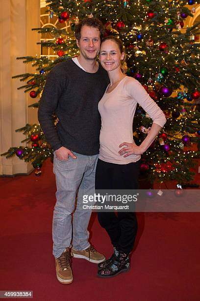 Mirco Lang and Inez David attend the 'Mein Mali' Book Presentation at Komische Oper on December 4 2014 in Berlin Photo by Christian Marquardt/Getty...