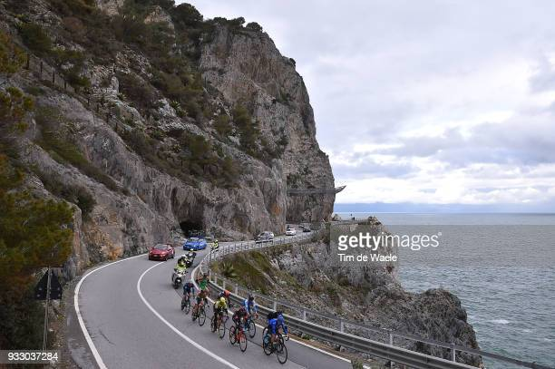 Mirco Maestri of Italy and Team Bardiani CSF / Lorenzo Rota of Italy and Team Bardiani CSF / Dennis Van Winden of The Netherlands and Team Cycling...