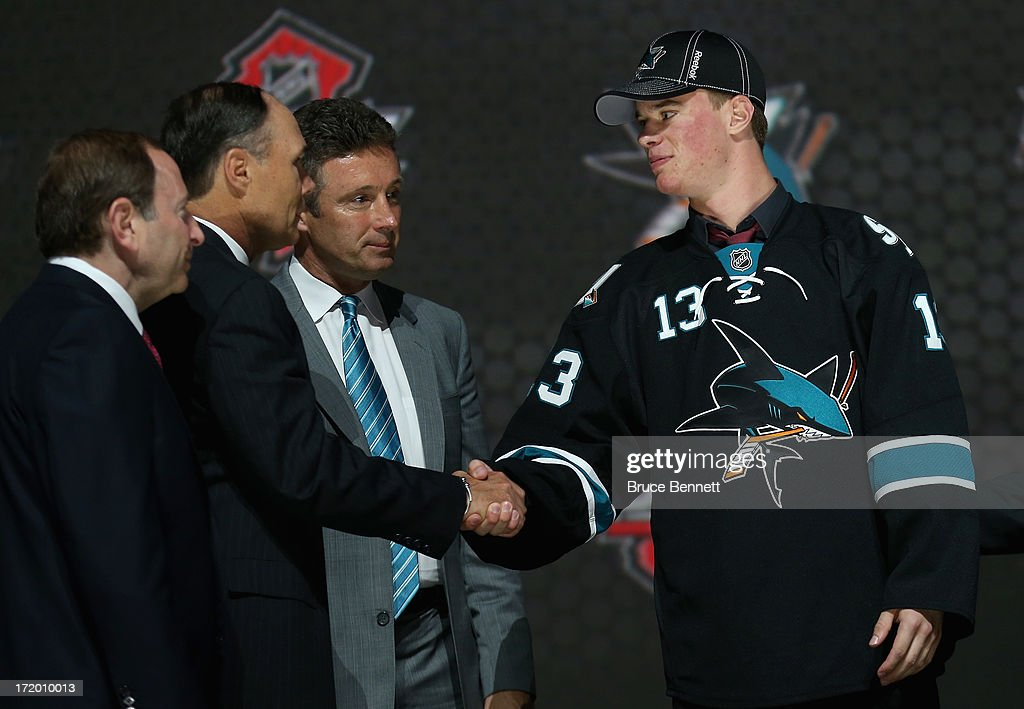 2013 NHL Draft : Nachrichtenfoto